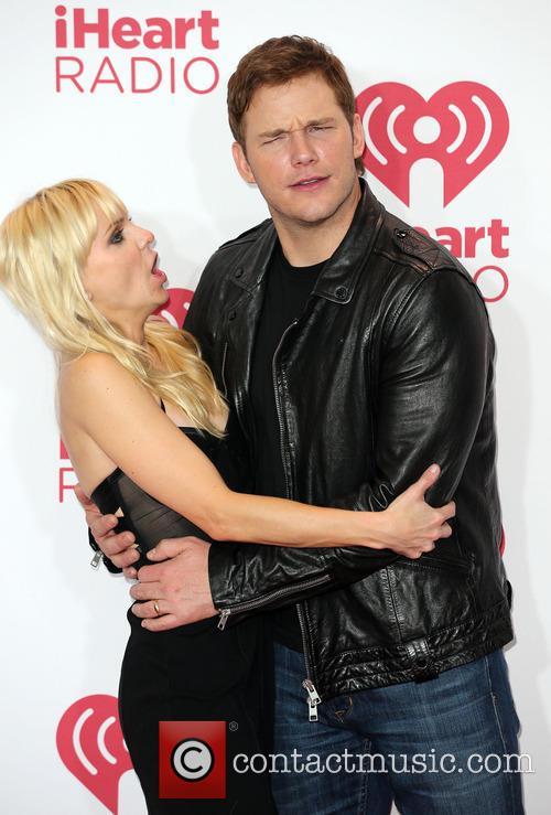 Anna Faris and Chris Pratt 4