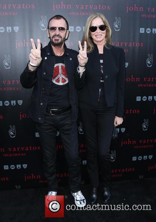 Ringo Starr and Barbara Bach 3
