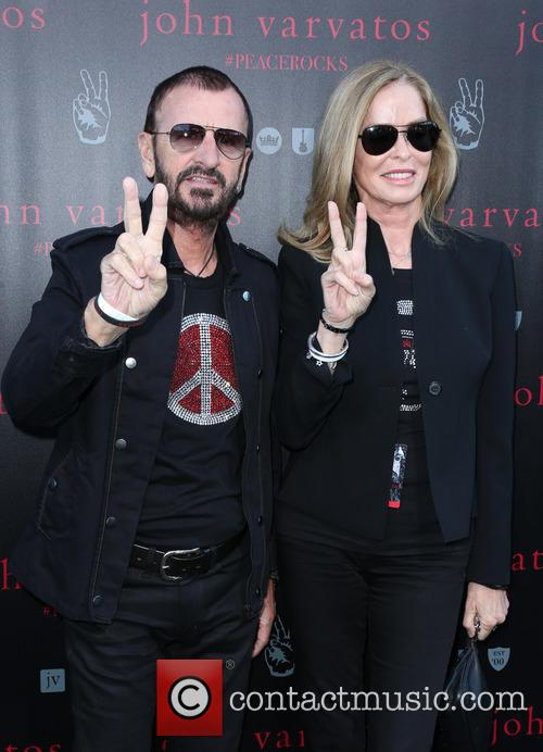 Ringo Starr and Barbara Bach 1