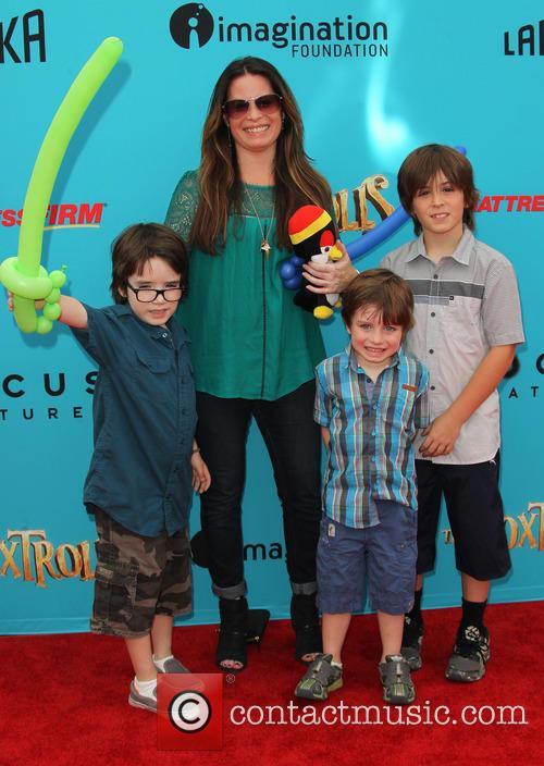 Photo of Holly Marie Combs & her Son  Finley Arthur Donoho