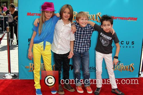 Lizzy Greene, Mace Coronel, Casey Simpson and Aidan Gallagher 2