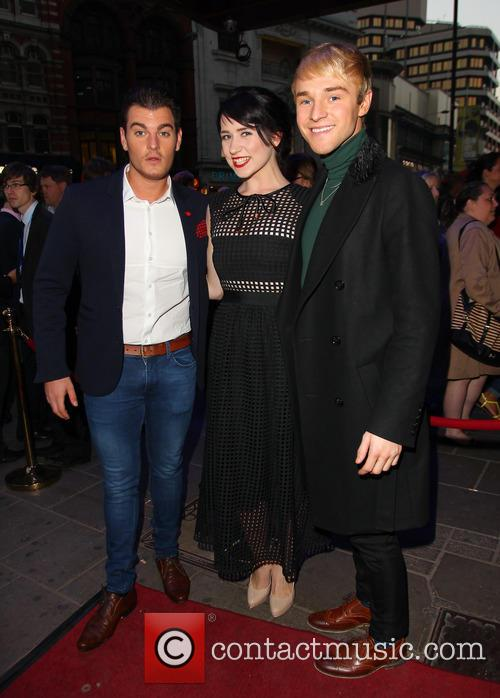 Matt Lapinskas, Danielle Hope and Lloyd Daniels