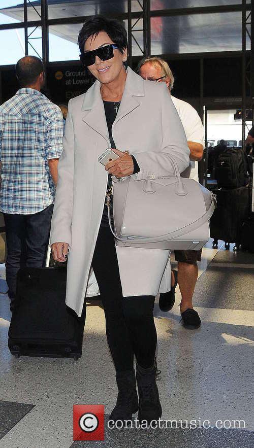 Kris Jenner at Los Angeles International Airport (LAX)