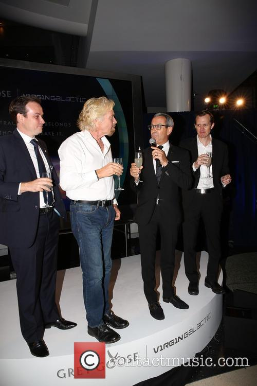 The Global Launch Of Grey Goose Virgin Atlantic