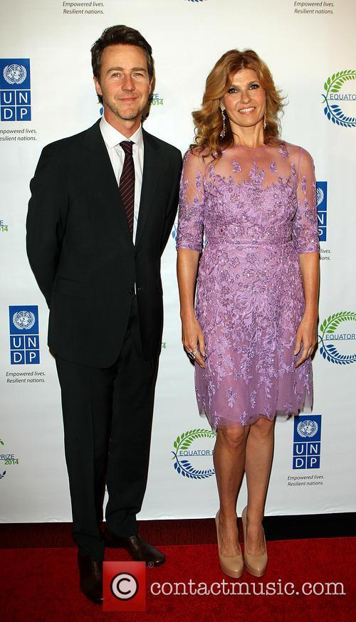Edward Norton and Connie Britton 1
