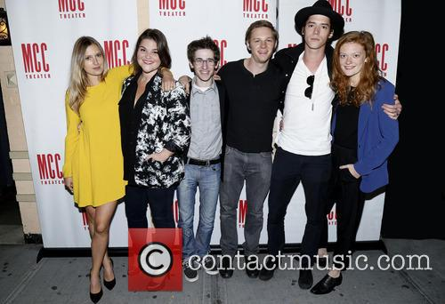 Lilly Englert, Annie Funke, Noah Robbins, Will Pullen, Pico Alexander and Colby Minifie 2