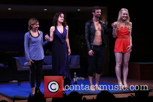 Callie Thorne, Elizabeth Reaser, Frederick Weller and Gia Crovatin 3