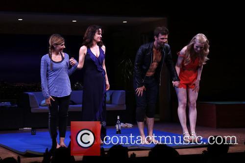 Callie Thorne, Elizabeth Reaser, Frederick Weller and Gia Crovatin 4