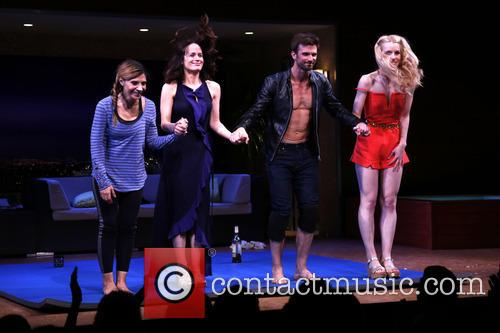 Callie Thorne, Elizabeth Reaser, Frederick Weller and Gia Crovatin 5