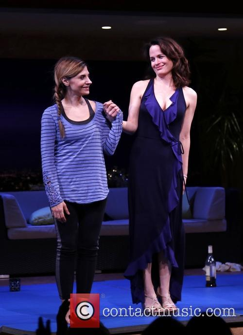Callie Thorne and Elizabeth Reaser
