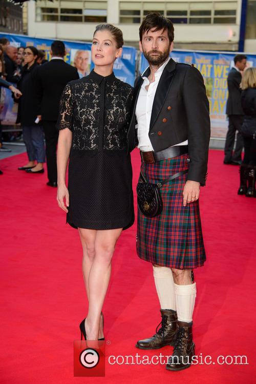 Rosamund Pike and David Tennant 2