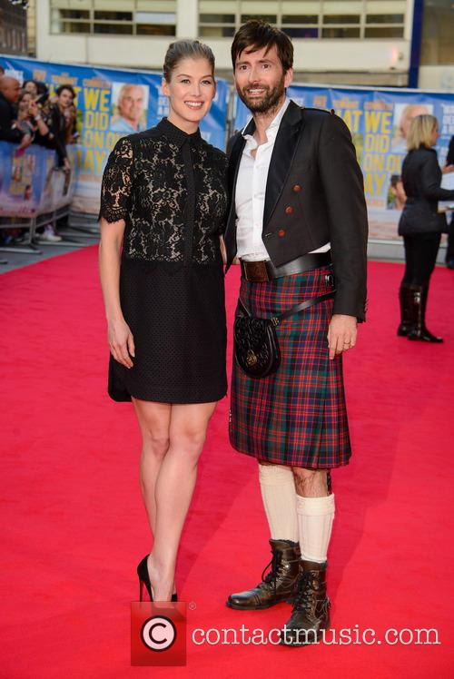 Rosamund Pike and David Tennant 4