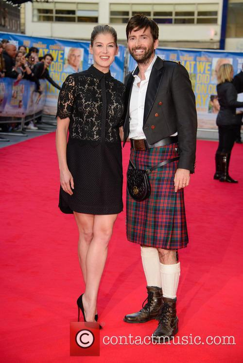 Rosamund Pike and David Tennant 5