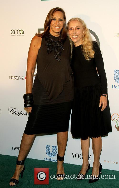 Donna Karen and Franca Sozzani 1