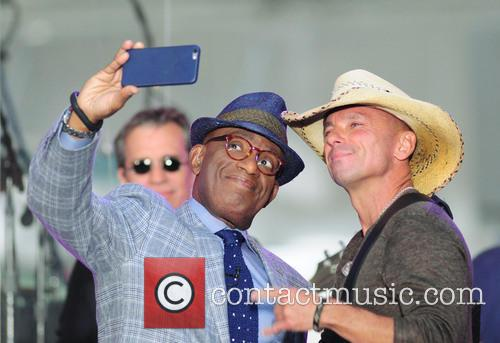 Al Roker and Kenny Chesney 2