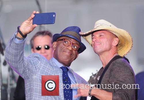 Al Roker and Kenny Chesney 3