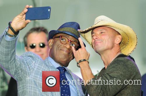 Al Roker and Kenny Chesney 4