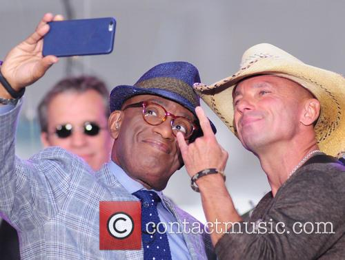 Al Roker and Kenny Chesney 5