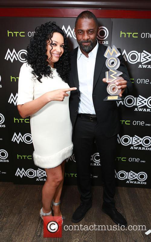 Idris Elba and Kanya King 9