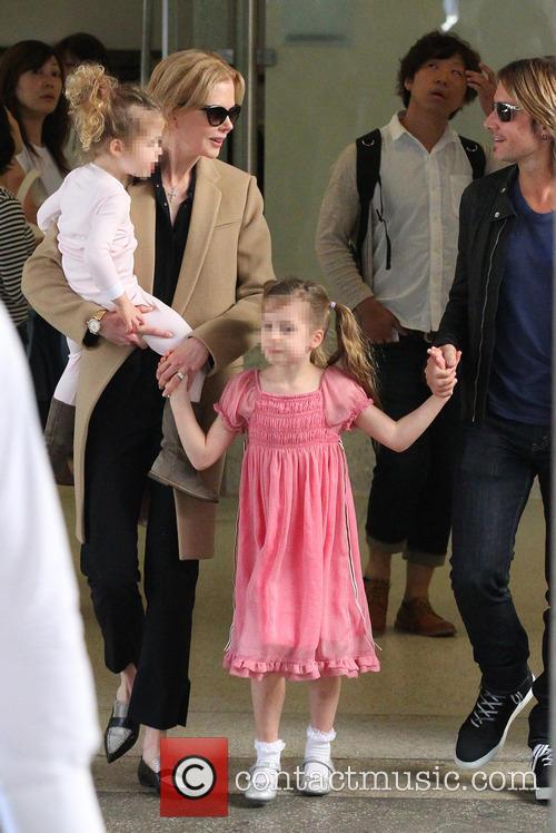 Nicole Kidman, Keith Urban, Sunday Rose Kidman Urban and Faith Margaret Kidman Urban 1
