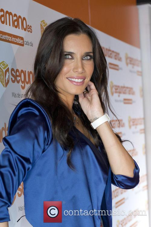 Pilar Rubio during the presentation of the new...