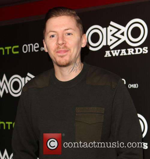 Professor Green and Stephen Manderson 1