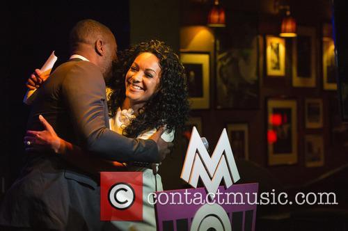 Idris Elba and Kanya King Mbe 10
