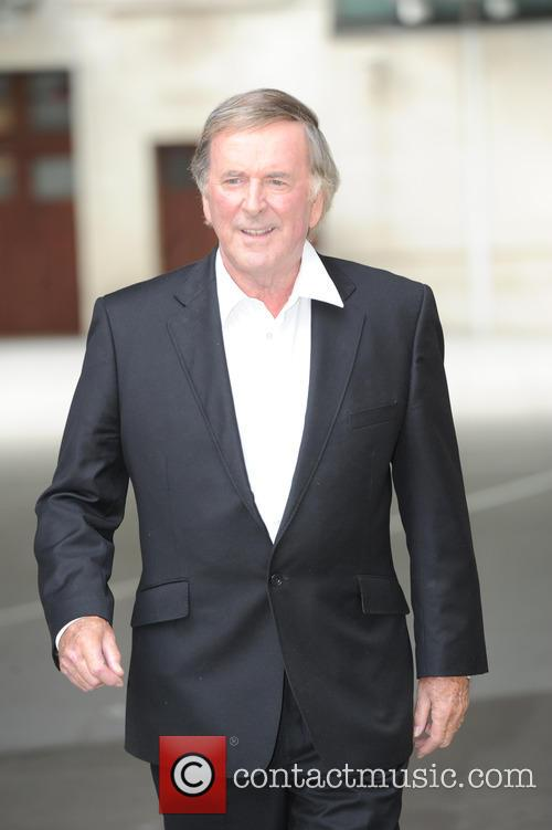 Terry Wogan out in London