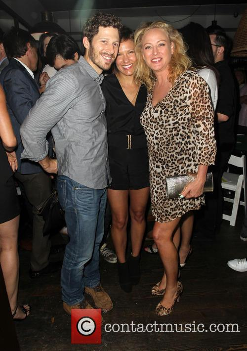 Zach Gilford, Kiele Sanchez and Virginia Madsen
