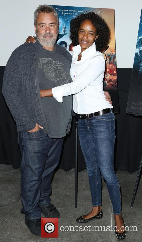Luc Besson and Virgine Besson Silla 2
