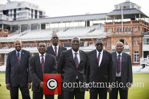 Colin Croft, Gordon Greenidge, Joel Garner, Sir Vivian Richards, Clive Lloyd and Sir Andy Roberts 1