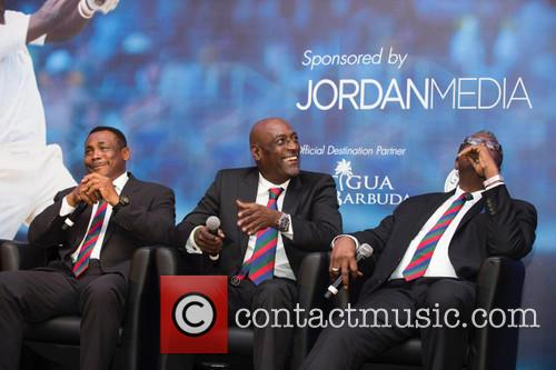 Gordon Greenidge, Sir Vivian Richards and Clive Lloyd 3
