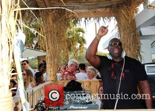 British DJ Carl Cox plays the Funk &...