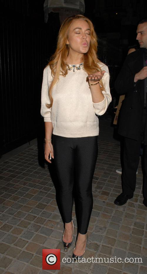 Celebrities at Chiltern Firehouse restaurant