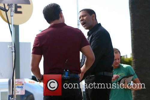 Denzel Washington and Mario Lopez 10