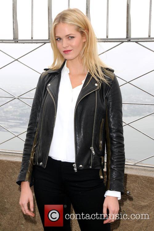 Victoria's Secret model Erin Heatherton lights up the...