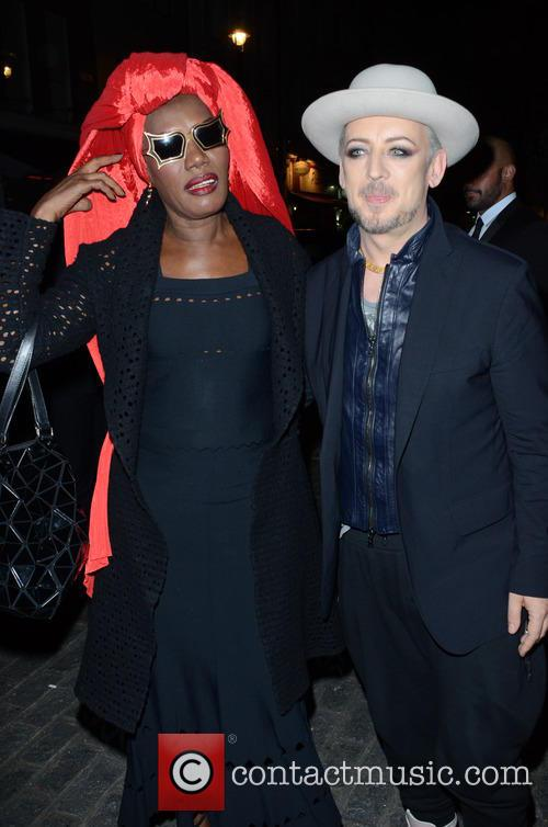 Boy George and Grace Jones 1