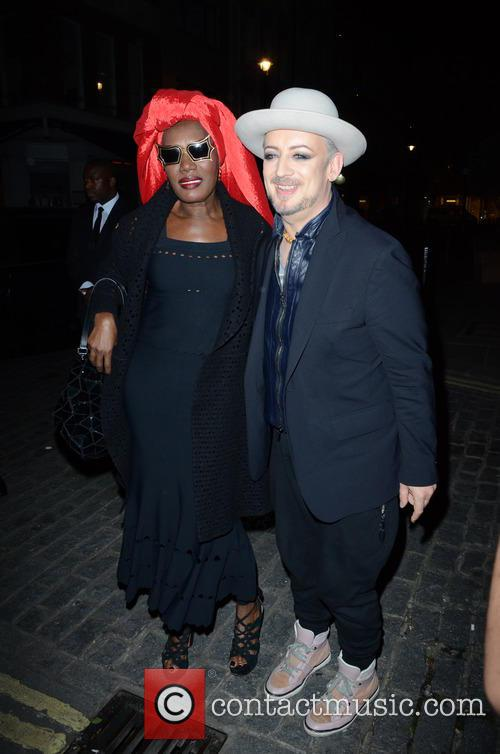 Boy George and Grace Jones 4