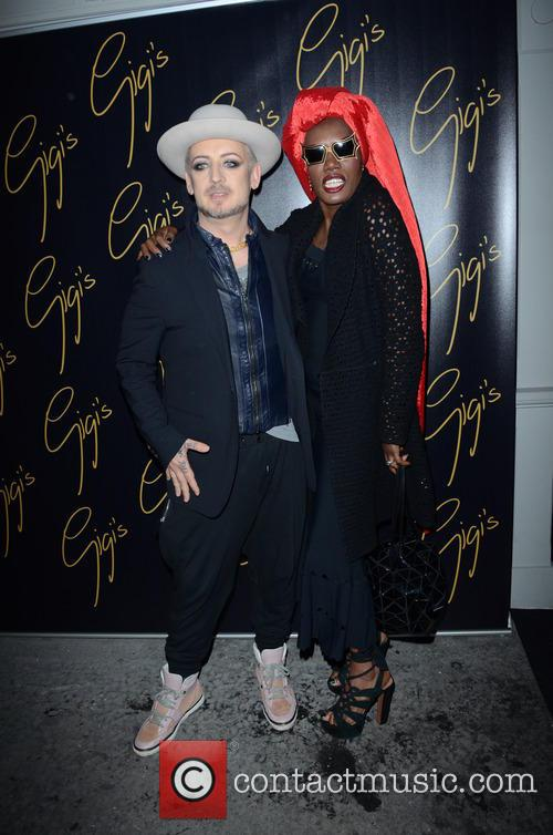 Boy George and Grace Jones 6