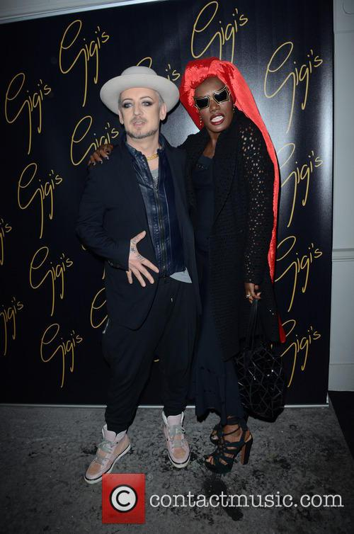 Boy George and Grace Jones 7