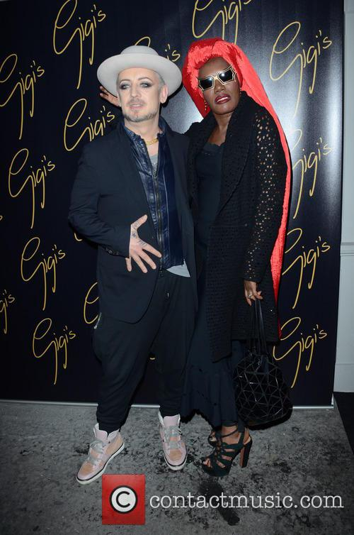 Boy George and Grace Jones 8