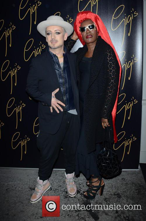Boy George and Grace Jones 9
