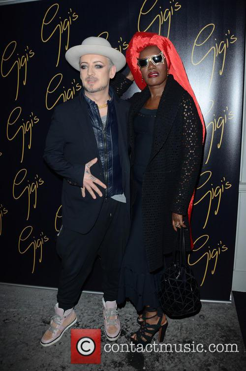 Boy George and Grace Jones 10