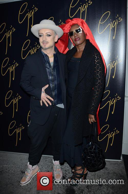 Boy George and Grace Jones 11