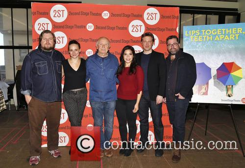 Michael Chernus, Tracee Chimo, Terrence Mcnally, America Ferrera, Austin Lysy and Peter Dubois