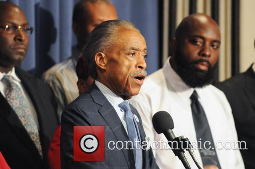 Al Sharpton and Michael Brown Sr 6
