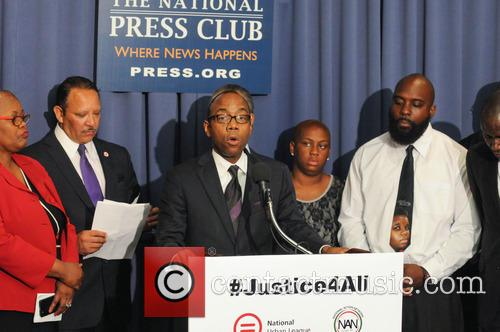 Cornell William Brooks, Marc Morial and Michael Brown Sr 2