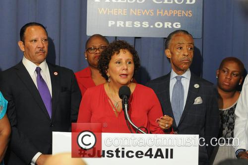 Laura W. Murphy, Marc Morial and Al Sharpton 3