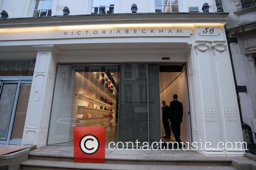 Victoria Beckham Shop Opening