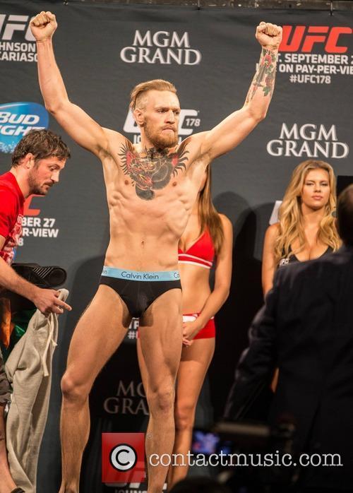 Conor McGregor UFC 178 press day